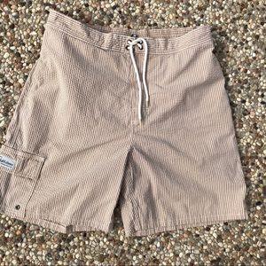 Polo Ralph Lauren Seersucker Cargo Swim Shorts